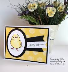 i have a really simple cute card today the banner indicates it is