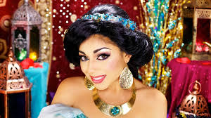 princess jasmine halloween princess jasmine makeup tutorial charisma star youtube