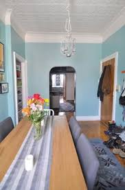 my turquoise living room using benjamin moore waterfall love it