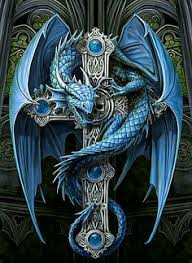 tattoo cross dragon celtic cross dragon tattoo cross of the blue dragon fantasy