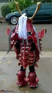 Samurai Halloween Costume Mech Samurai Warrior Costume Photo 4 9