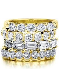 gold diamond band diamond wedding band yellow gold yellow gold anniversary ring