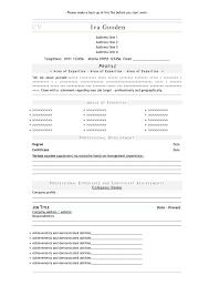 Canada Resume Template Make Cv Resume Online New Resume Template Create Curriculum Vitae