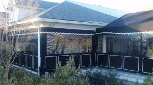 Outdoor Canvas Curtains Custom Enclosures For Your Deck Porch Or Patio