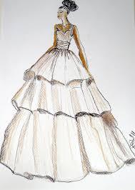 wedding dress drawing rosaurasandoval com