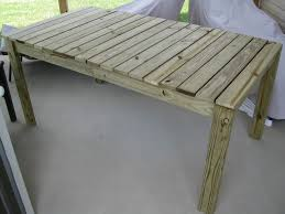 Build Outside Wooden Table by Diy Wooden Outdoor Dining Table Laforce Be With You