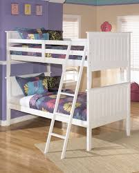 lulu cottage white wood cottage twin twin bunk bed kids the