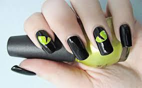 scary halloween nail art designs ideas u0026 stickers 2013 2014