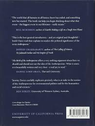 birth anthropocene jeremy davies 9780520289970
