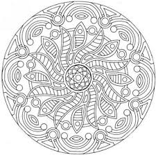 the most elegant and also interesting free printable mandalas
