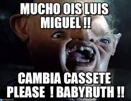 Luis Miguel Memes - mucho ois luis miguel sloth 1 meme on memegen