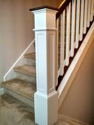 Refinish Banister It Was Installed Around The Existing Post I Built The Front And