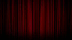 Curtain Place Cones Of Light Moving Across The Red Theater Curtain Place For