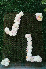 wedding backdrop initials blooming wedding monograms and initials