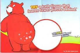 Charmin Bathroom Scraping Bear Bottom P U0026g U0027s Toilet Paper Ads Declared Misleading