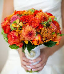 Wedding Flowers Fall Colors - 52 best fall colors for wedding bouquets images on pinterest