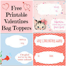free printable valentines day bag toppers domestic mommyhood