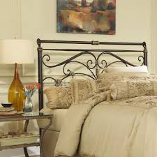 King Metal Headboard Fashion Bed Lucinda California King Size Metal Headboard