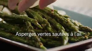 cuisiner asperge verte asperges vertes sautées à l ail