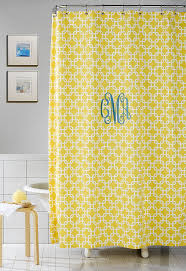 lovable monogrammed shower curtains and about monogram shower