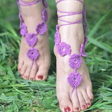 barefoot sandals wedding 2018 crochet barefoot sandals wedding anklets anklets