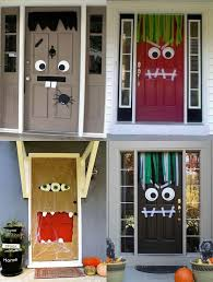door decorations 35 spooktacular front door decor ideas for diy cozy home