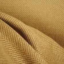 Wool Drapery Fabric Jumper Mocha Beige Herringbone Upholstery Fabric Traditional