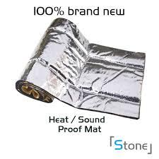 nissan pathfinder heat shield rattle 10sqft heat insulation deadening material mat for car trunk
