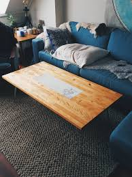 Diy Coffee Tables by Diy Coffee Table Ikea Counter Top With Inlaid Marble