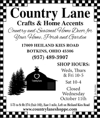 and seasonal home decor country lane crafts and gifts