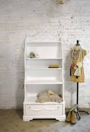 white cottage bookcase painted cottage chic shabby romantic