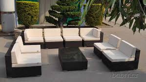 Outdoor Furniture Sectional Sofa Innovative U Shaped Patio Sectional Sofa Outdoor Patio Furniture