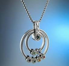 grandmother s necklace strikingly beautiful grandmother necklace with birthstones