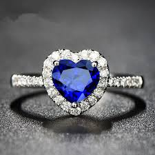 best stone rings images Top sell blue stone heart stone ring fashion cz zircon wedding jpg