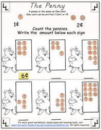 how many pennies number worksheets pennies and worksheets