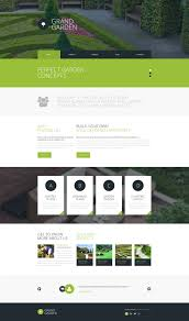 garden design responsive website template 51784