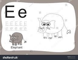 z alphabet tracing worksheetscartoon coloring book stock vector