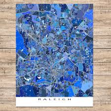 Raleigh Nc Zip Code Map by Usa Map Puzzle One Stateone Puzzle Piece North Carolina Raleigh