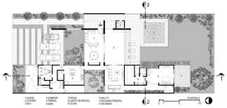 courtyard plans amazing courtyard modern house plans home bacuku
