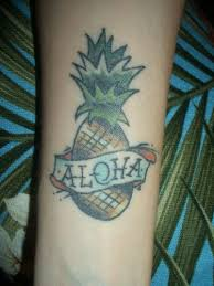 aloha monkey tattoo on arm photos pictures and sketches