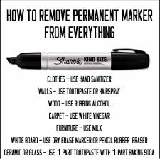 how to get permanent marker off table 51 insane everyday life hacks that will make your life effortless