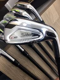 43100 Titleist C16 Concept Irons 4 W Limited Ust Mamiya Matte Black 808