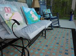 How To Clean Indoor Outdoor Rugs by How To Paint A Rug For Your Porch Youtube