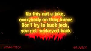 kodak black halloween lyrics youtube