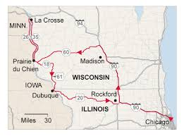 wisconsin scenic drives map five favorite fall drives in the midwest chicago tribune