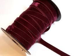 maroon ribbon maroon velvet ribbon 5 8 inch wide x 3 yards by