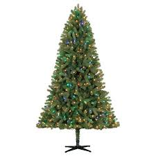 time pre lit 7 5 whitefield fir artificial tree