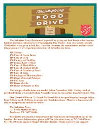 mentor me thanksgiving food drive