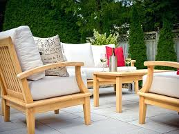 Recycled Patio Furniture Teak Outdoor Armchairs Deep Seating Recycled Teak Outdoor
