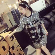 popular sequin t shirt dress buy cheap sequin t shirt dress lots
